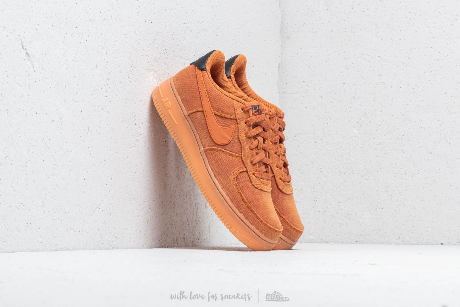 sale retailer 0b378 bb578 Nike Air Force 1  07 LV8 Style Monarch  Monarch-Gum Med Brown at