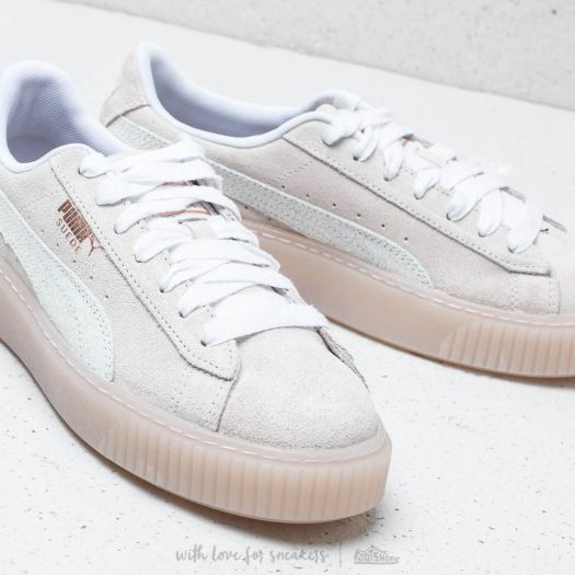 shoes Puma Suede Platform Artica