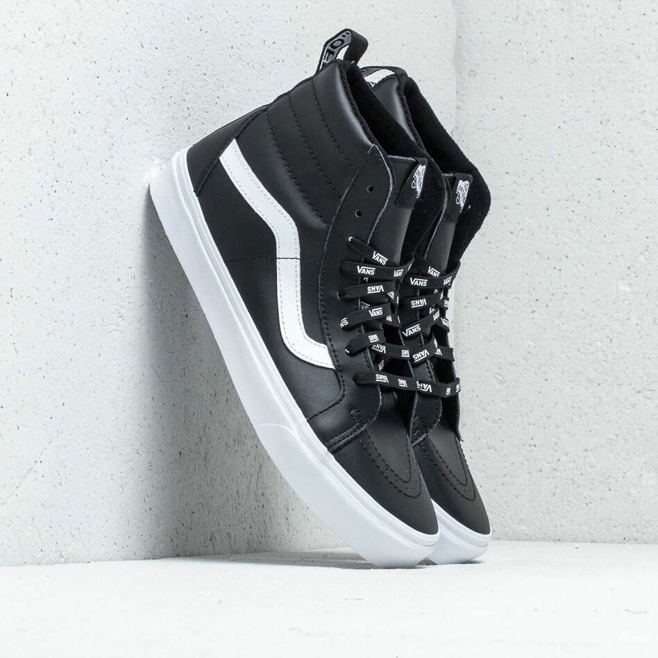 Vans Sk8- Hi Reissue Of The Wall Webbing Black/ Leather EUR 34.5