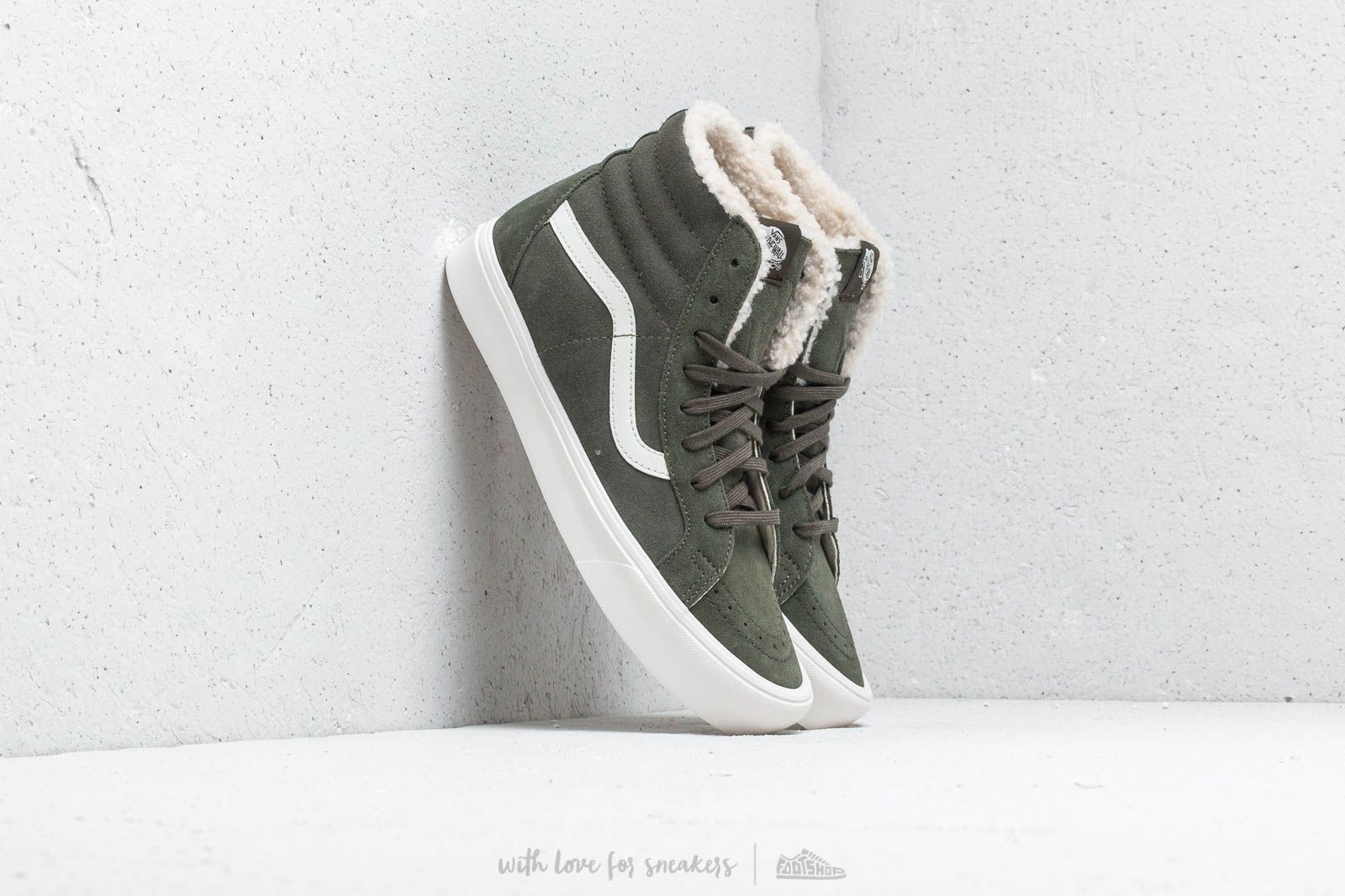 4c5ba93e75 Vans SK8-Hi Reissue Lite (Sherpa) Green at a great price £45