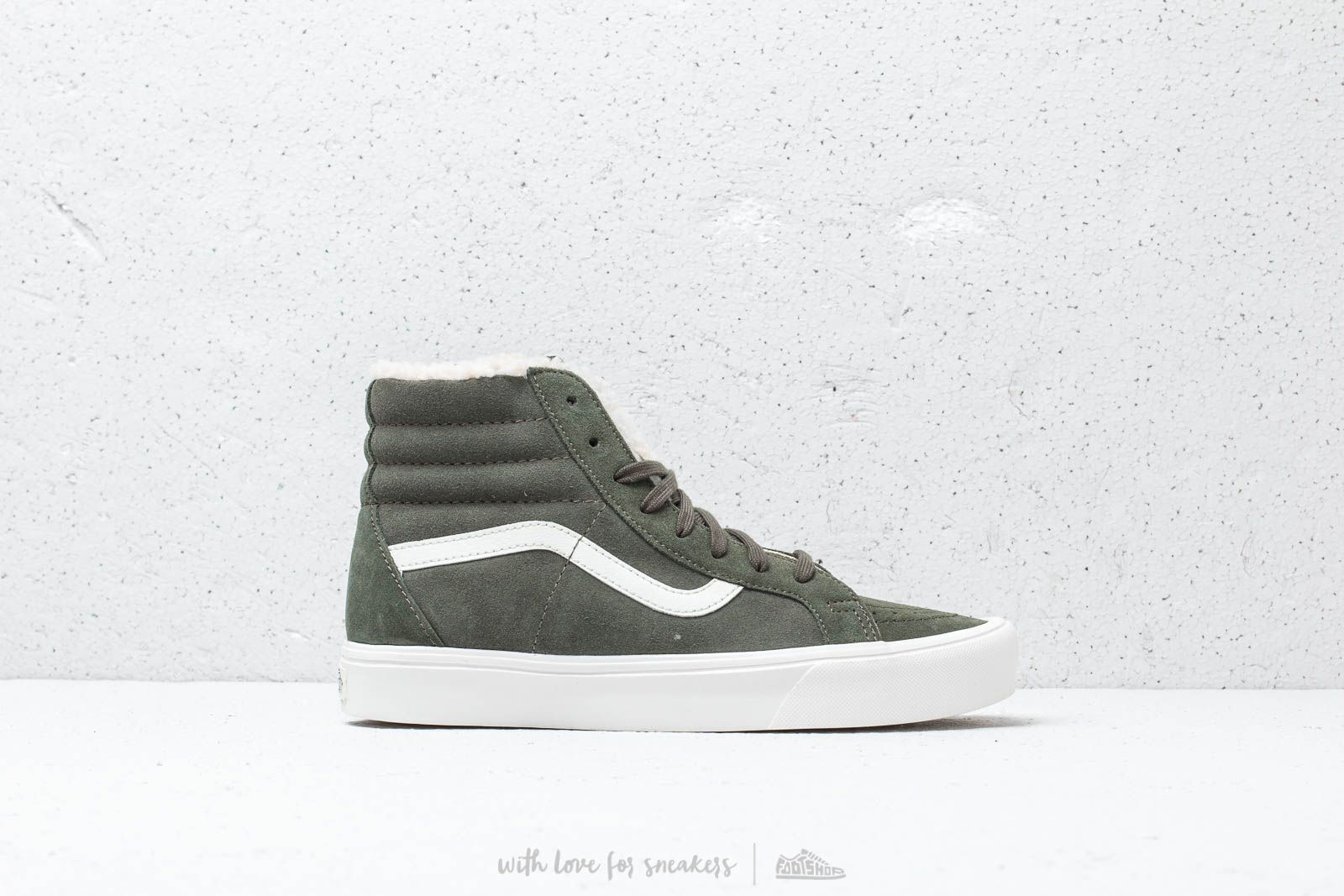 2a8ee87d63 Vans SK8-Hi Reissue Lite (Sherpa) Green at a great price 52 €
