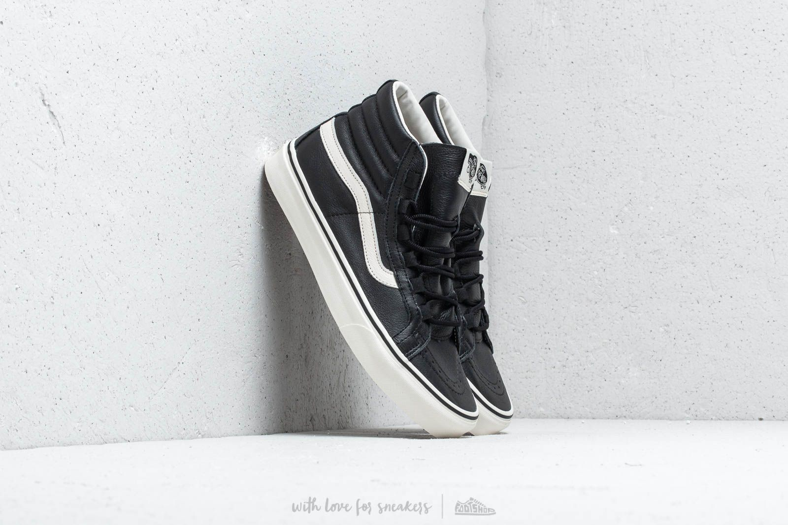 1bcc7b1149d25e Vans Sk8-Hi Reissue Ghillie (Leather) Black  Marshmallow at a great price