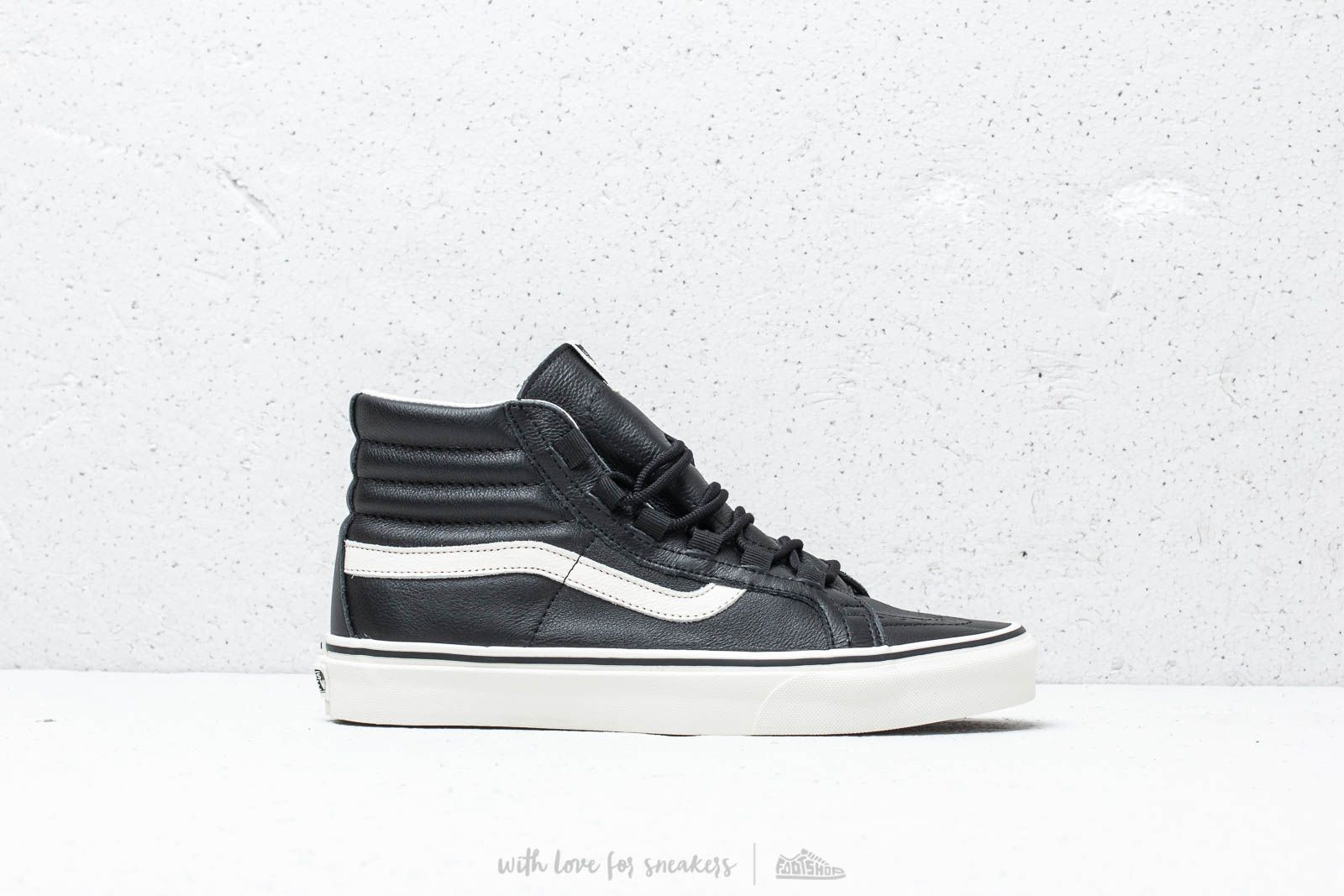 Vans Sk8-Hi Reissue Ghillie (Leather) Black  Marshmallow at a great price 8bf86b04b