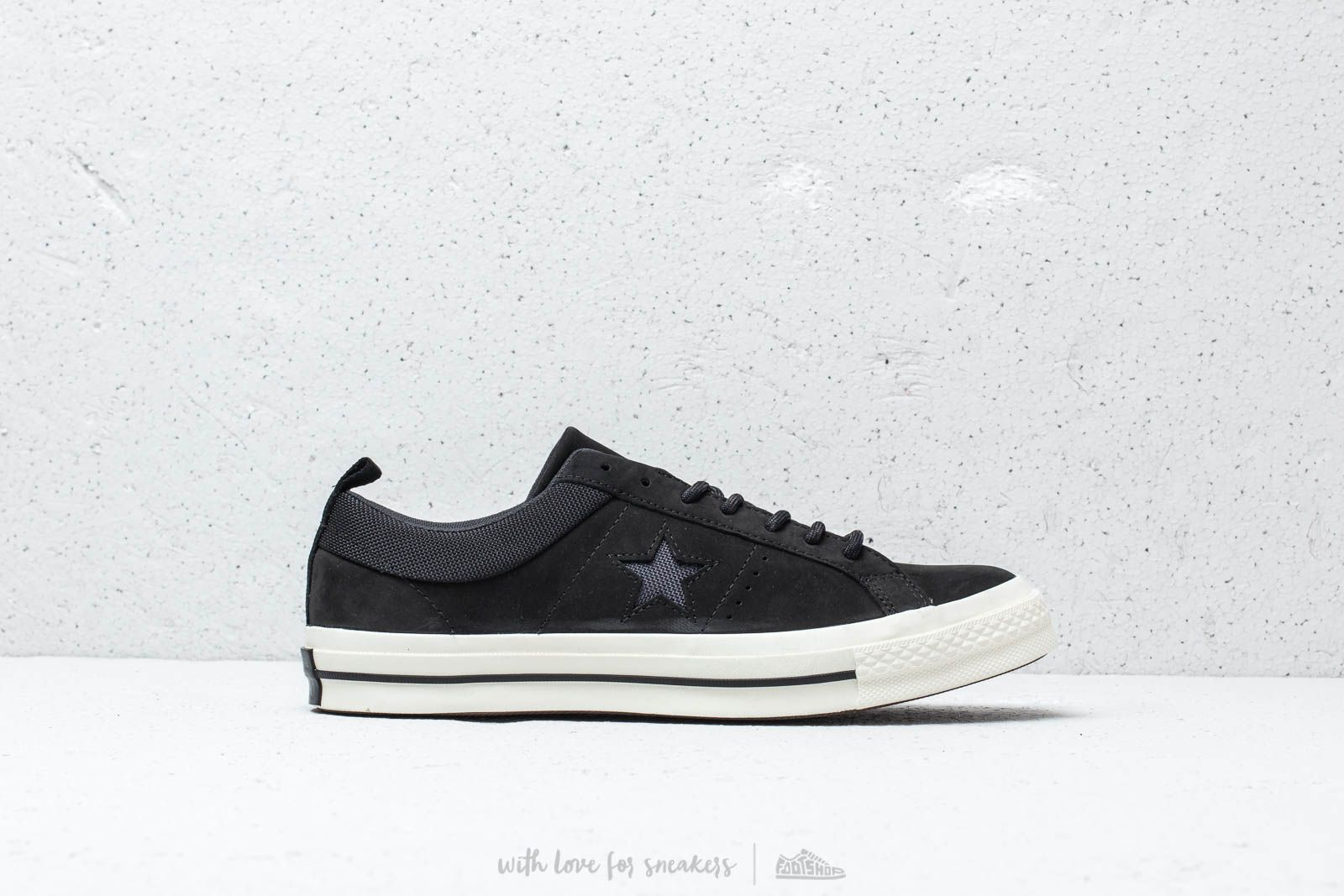 a527bb4214f6 Converse One Star OX Black  Almost Black  Black at a great price 88 €