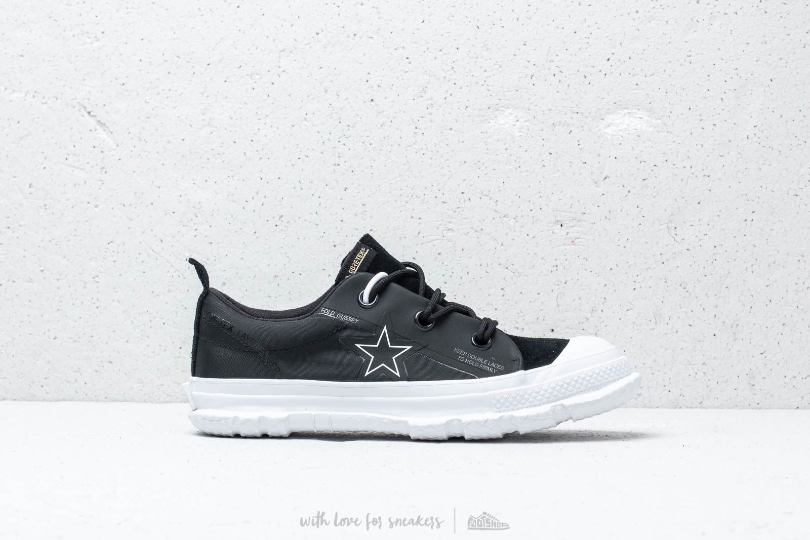 bb4ab4594c9c Converse One Star MC18 OX Black  White  White at a great price 139 €
