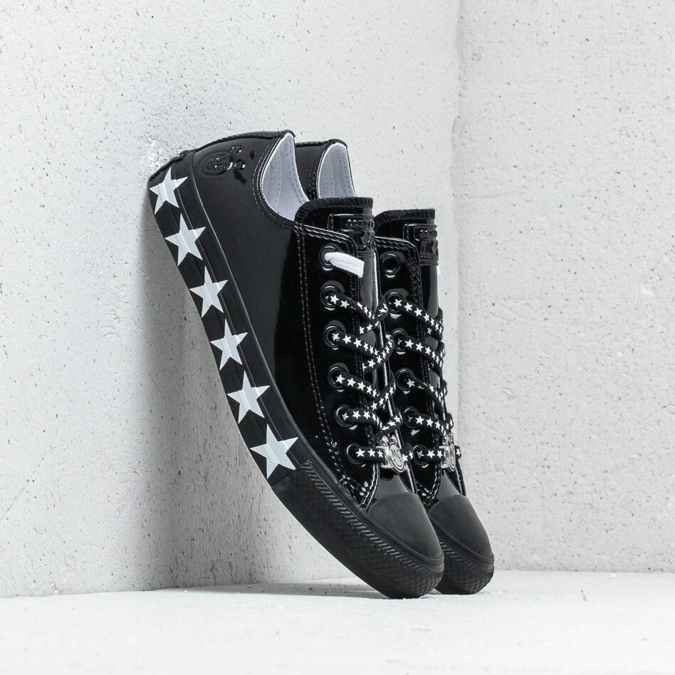 Converse x Miley Cyrus Chuck Taylor All Star OX Black/ White/ Black EUR 41