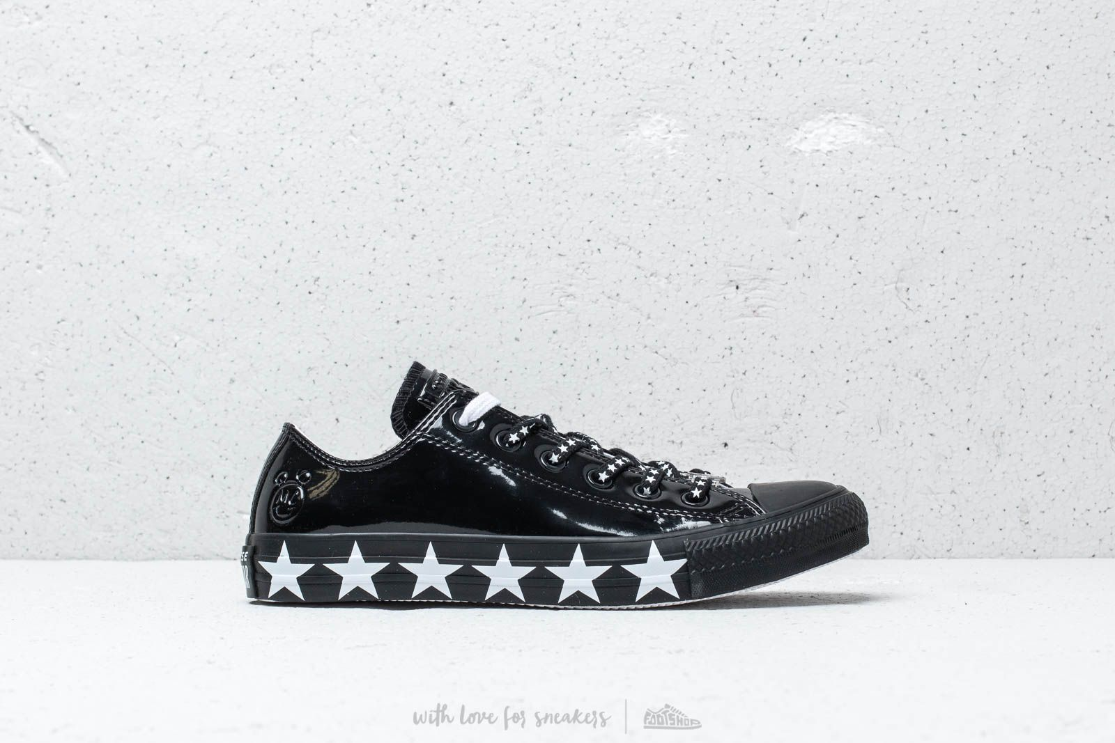Converse x Miley Cyrus Chuck Taylor All Star OX Black White Black | Footshop