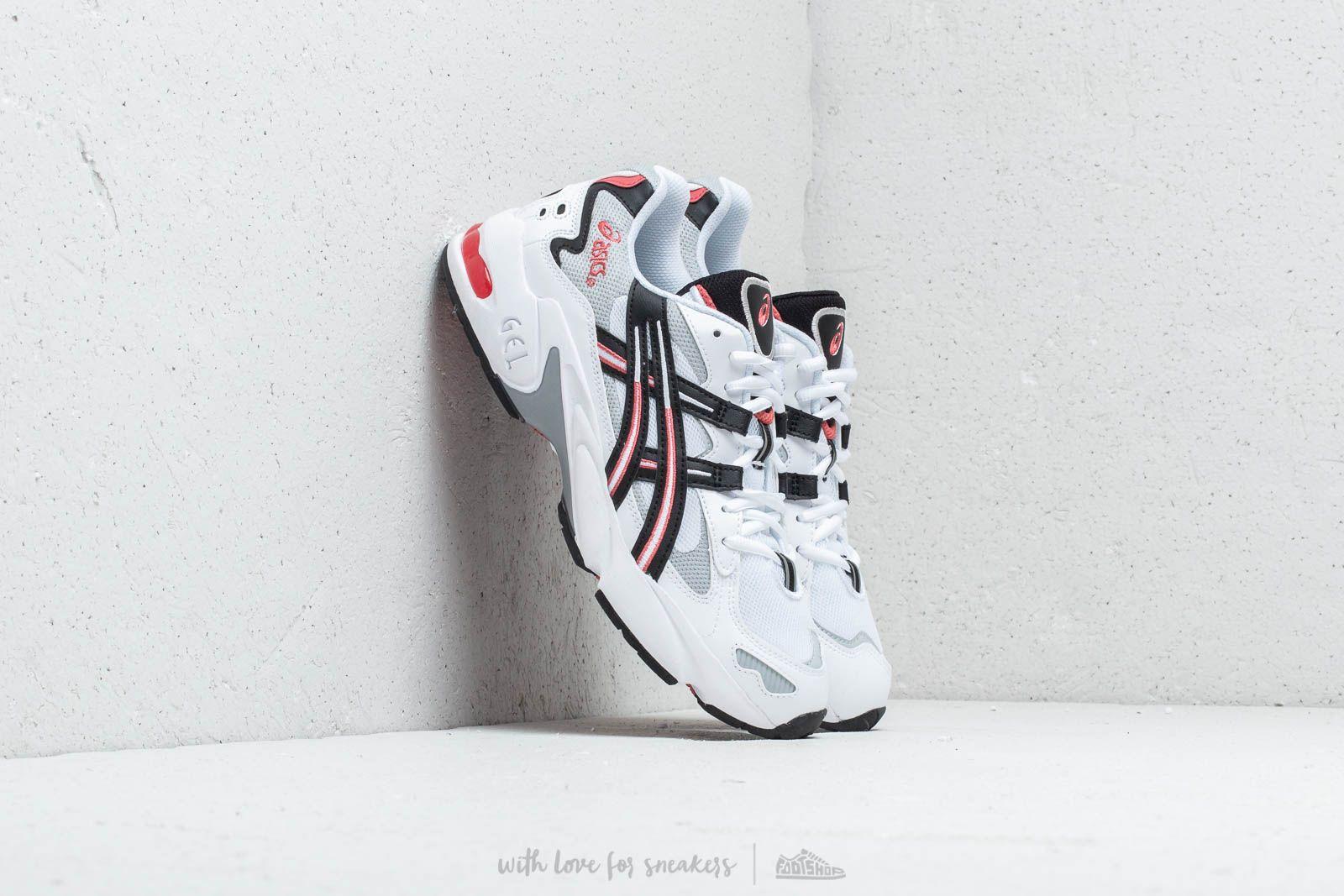 Herren Sneaker und Schuhe Asics Gel Kayano 5 OG White/Black