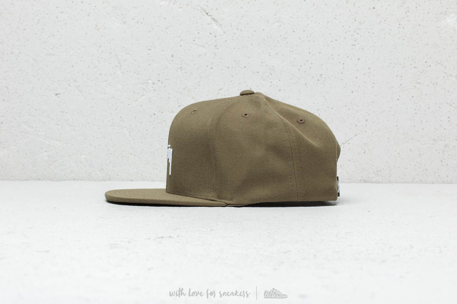 98614f9c499 Stüssy HO18 Stock Cap Olive at a great price £43 buy at Footshop