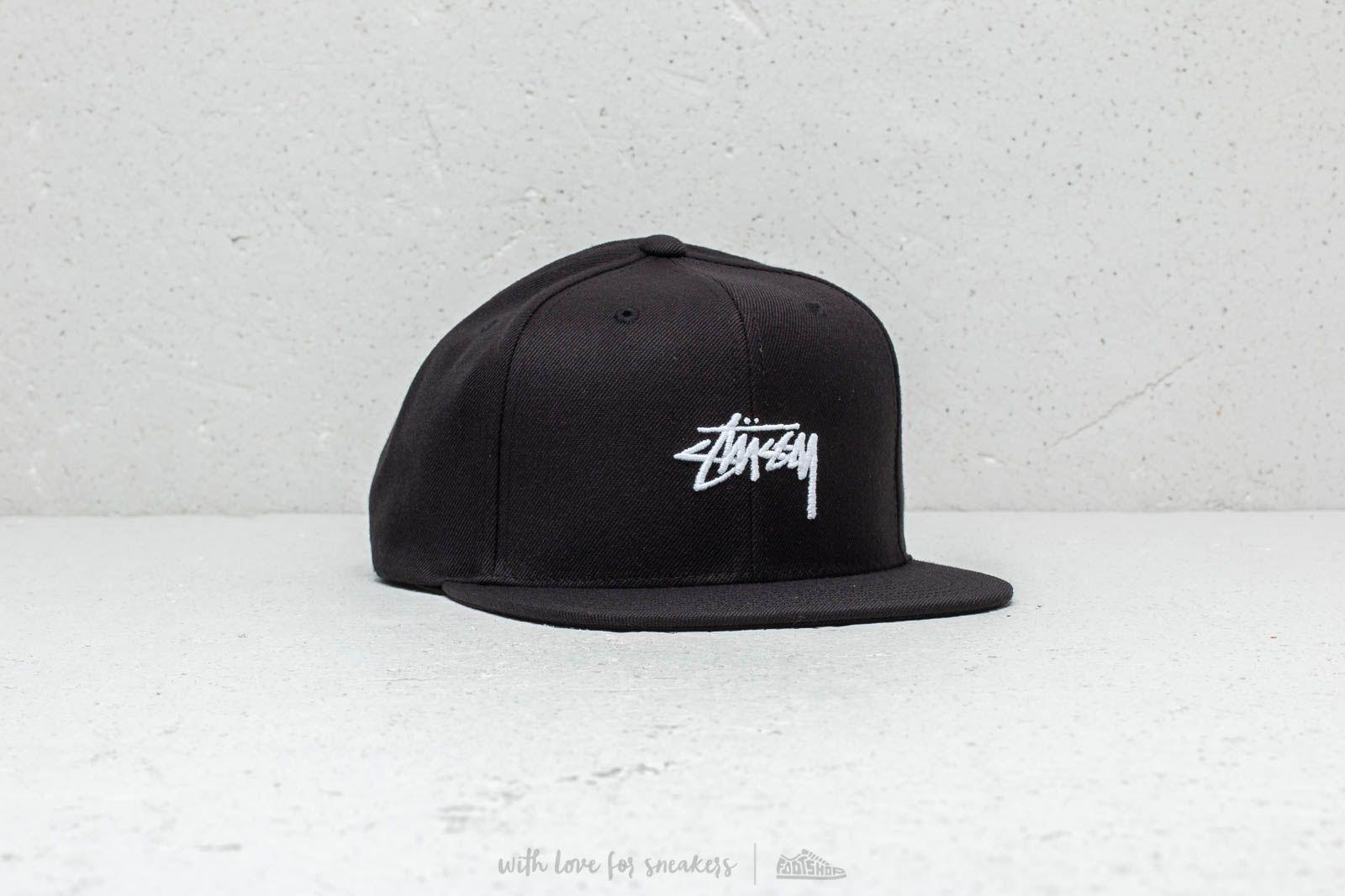 e1d762aad7f Stüssy HO18 Stock Cap Black