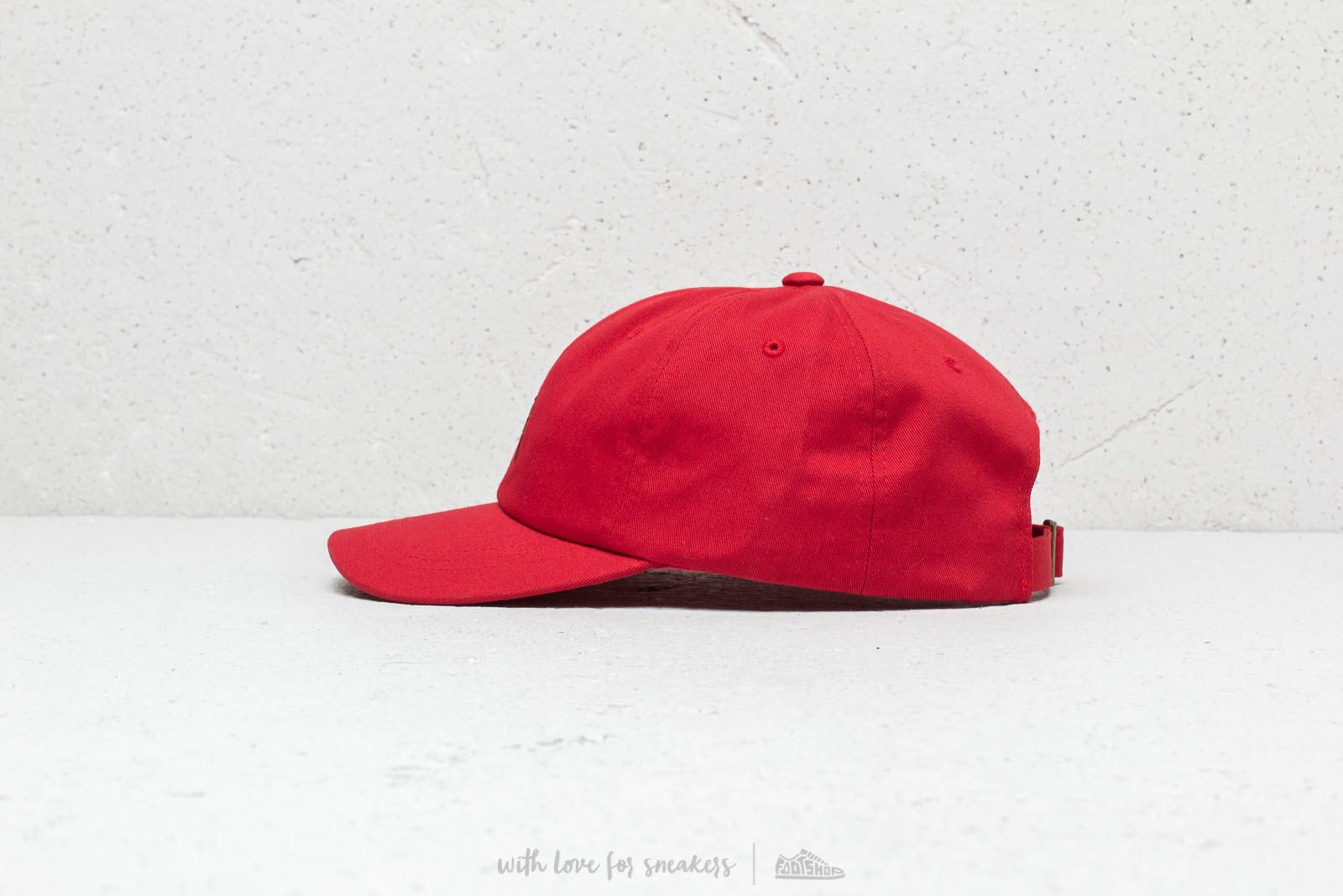 64672895137 Stüssy HO18 Stock Low Pro Cap Red at a great price £41 buy at Footshop