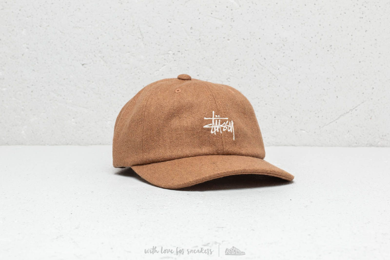 cfda688d093 Stüssy Stock Wool Low Pro Cap Camel at a great price £26 buy at Footshop