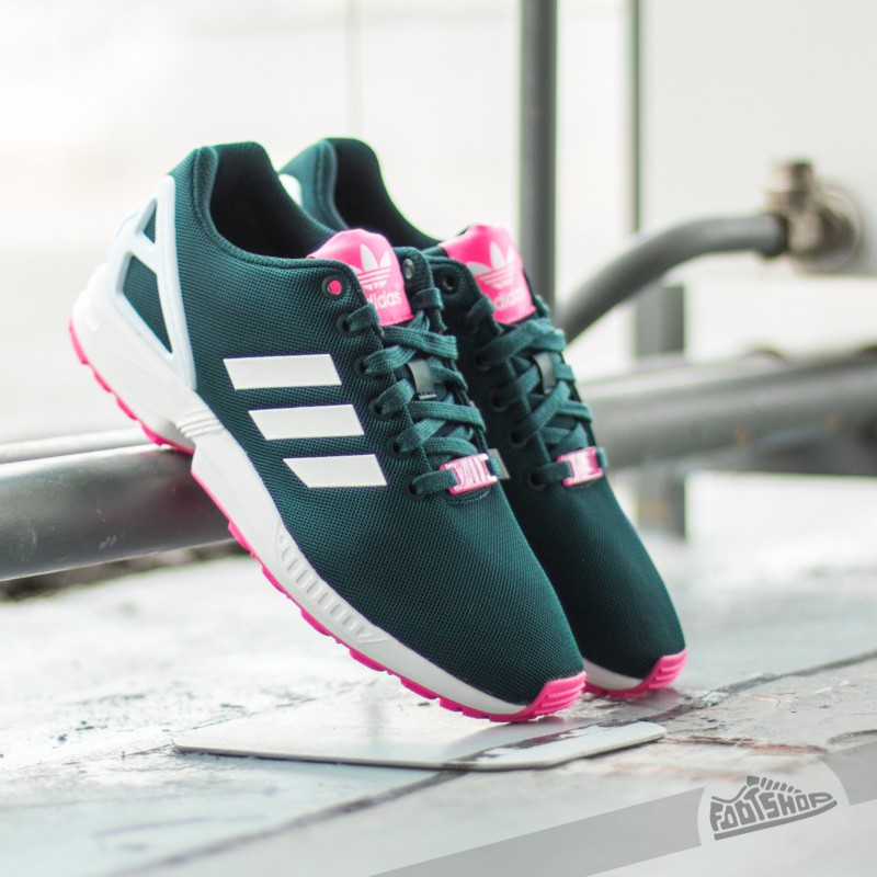 huge selection of a1085 6e974 adidas ZX Flux W Petrol InkFtwr WhiteSolar Pink