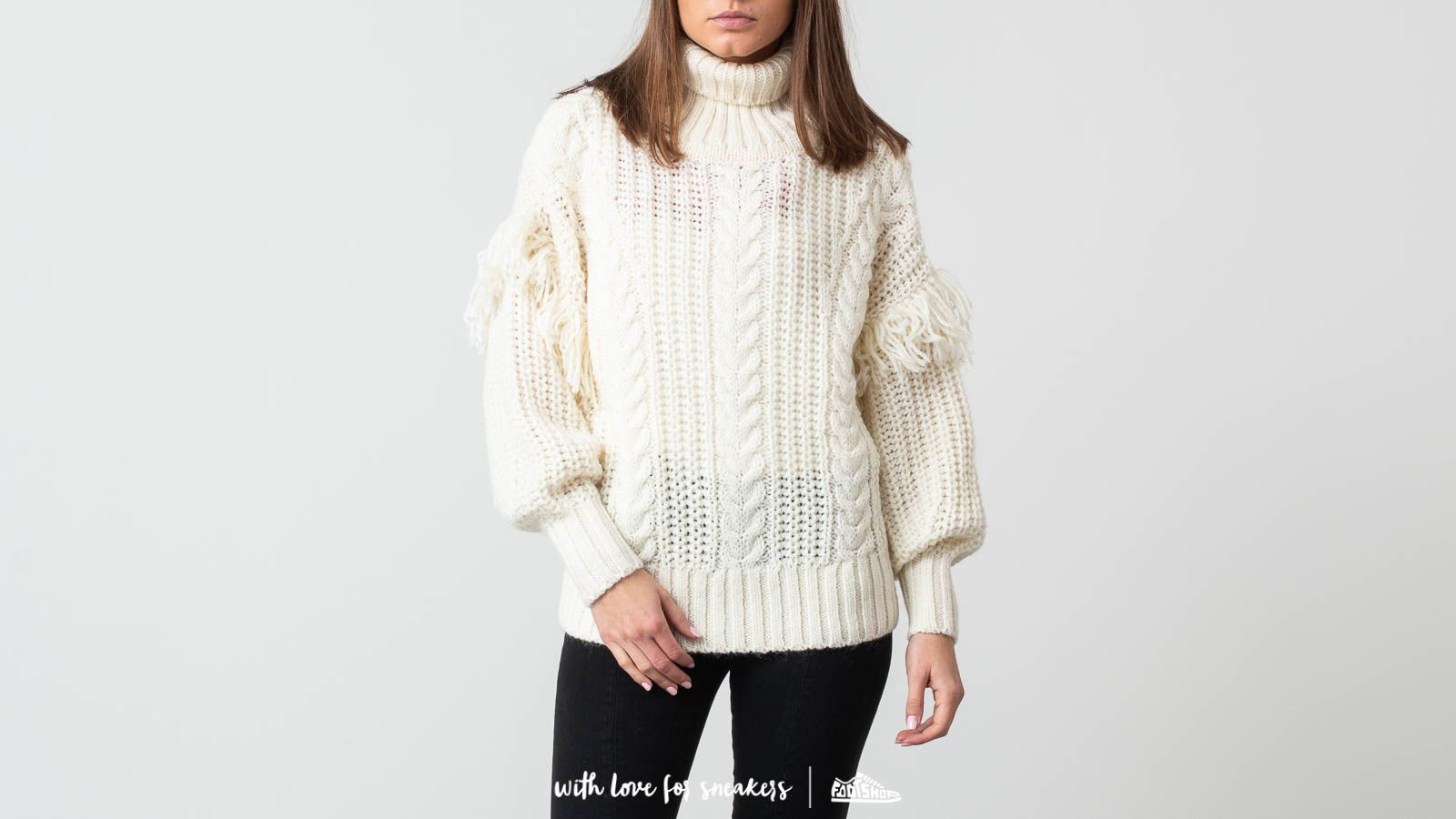 SELECTED Lina Knit Roll Neck