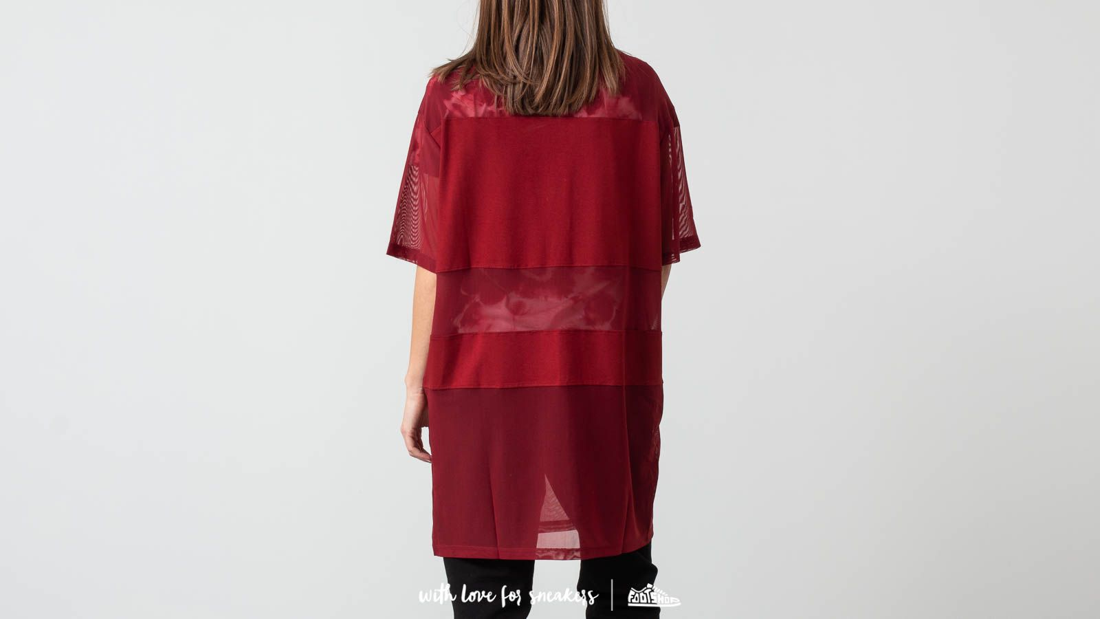 3c30f4d00736 FILA Emily Tee Dress Merlot at a great price 55 € buy at Footshop