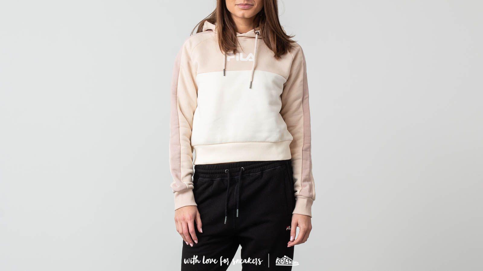 Sweatshirts FILA Landers Hoodie Pink Tint/ Eggnog/ Mushroom