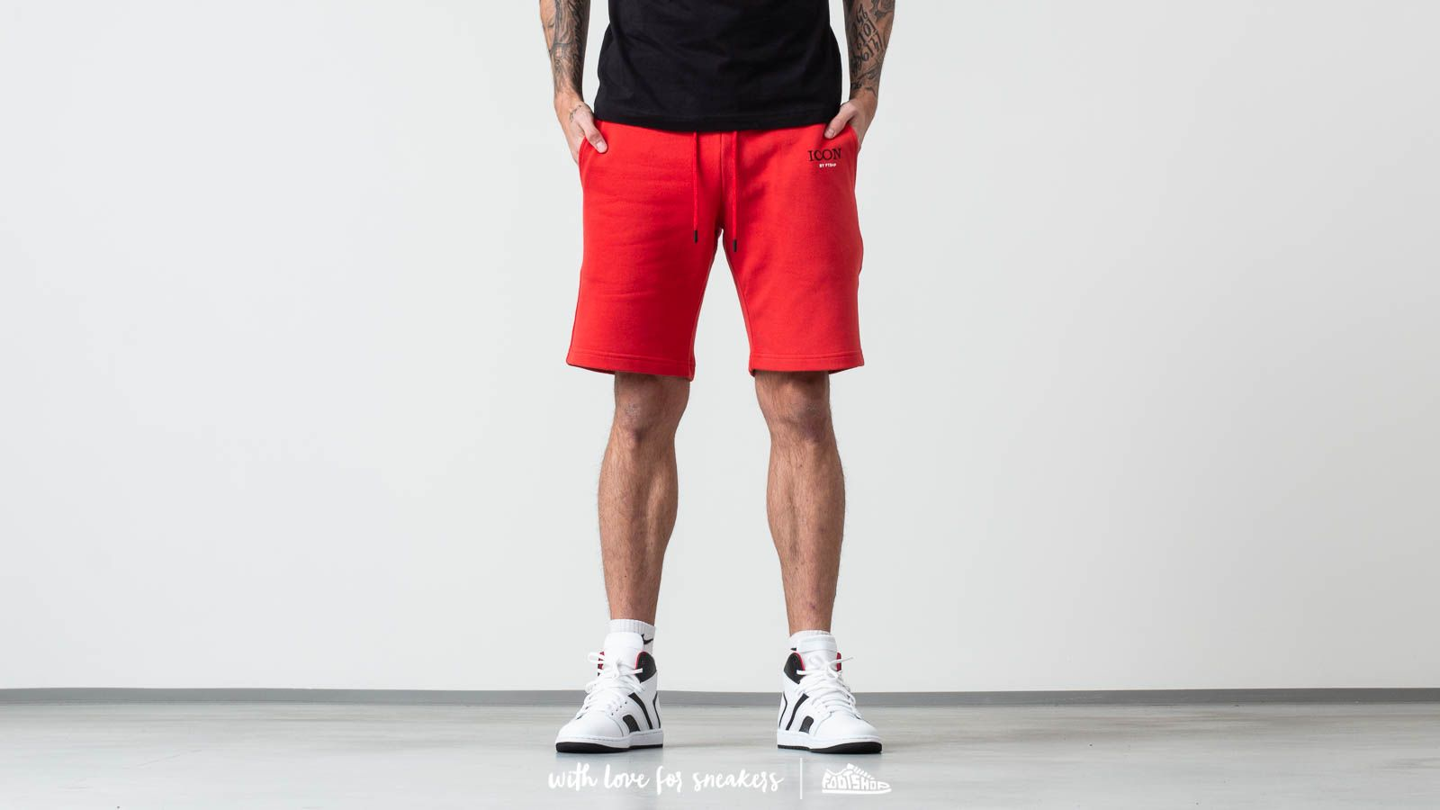 FTSHP x Rytmus Shorts Red za skvelú cenu 51 € kúpite na Footshop.sk