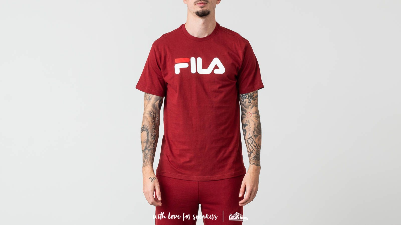 FILA Classic Pure Tee Merlot at a great price 29 € buy at Footshop 12e3218ba76