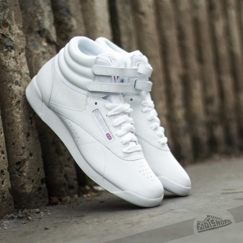 2eb64e891f0 Reebok Classic F S Hi White Silver