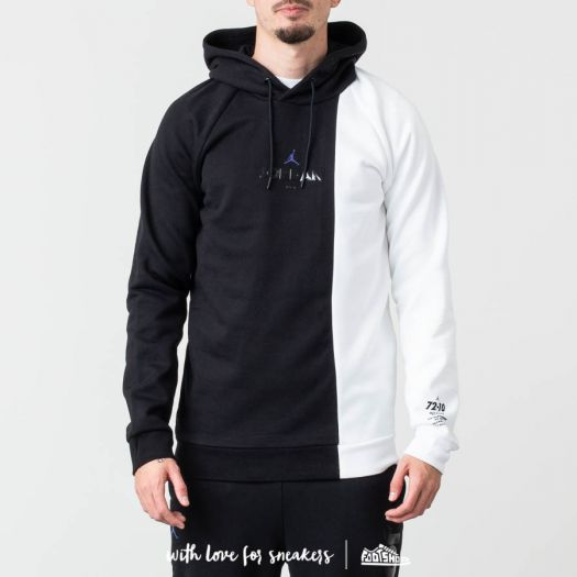 pretty nice 3a008 8c244 Jordan Sportswear Legacy AJ 11 Hoodie Black/ White ...