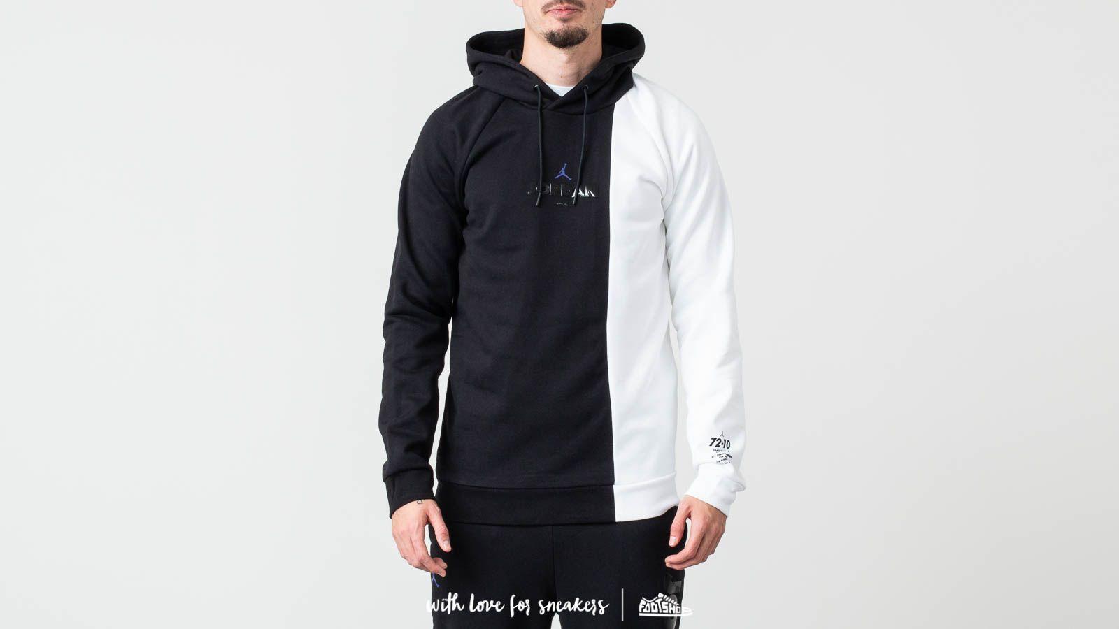 2c17c252d2d85e Jordan Sportswear Legacy AJ 11 Hoodie Black  White