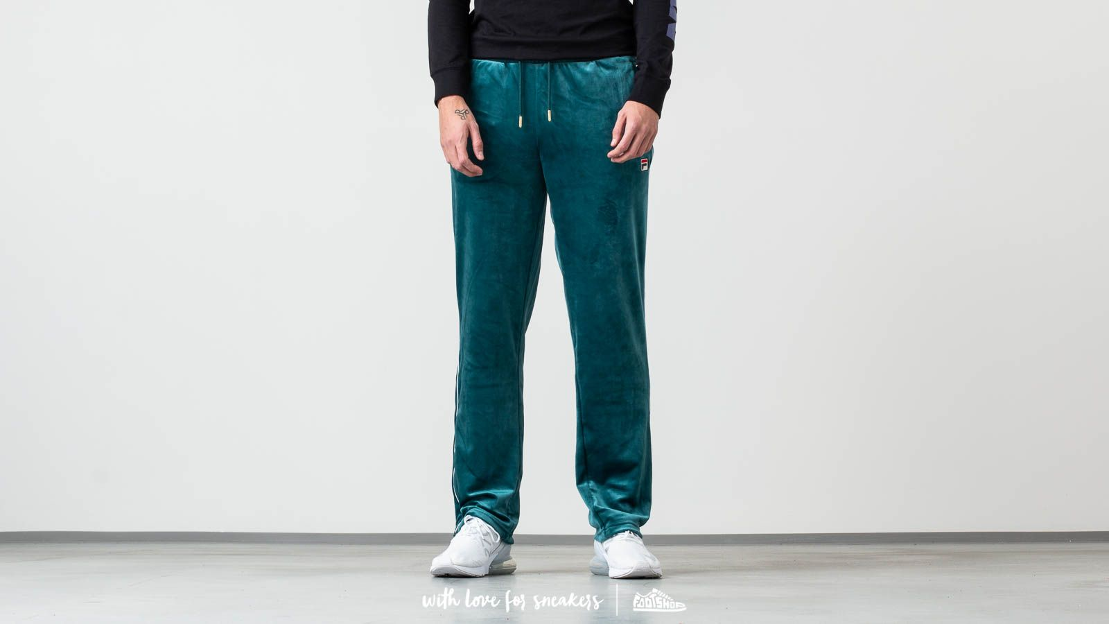 Fila Cyrus Track Pants With Contrast Piping