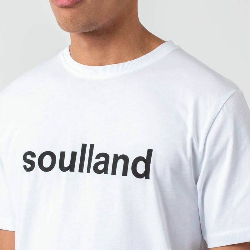 Soulland Logic Chuck Tee White