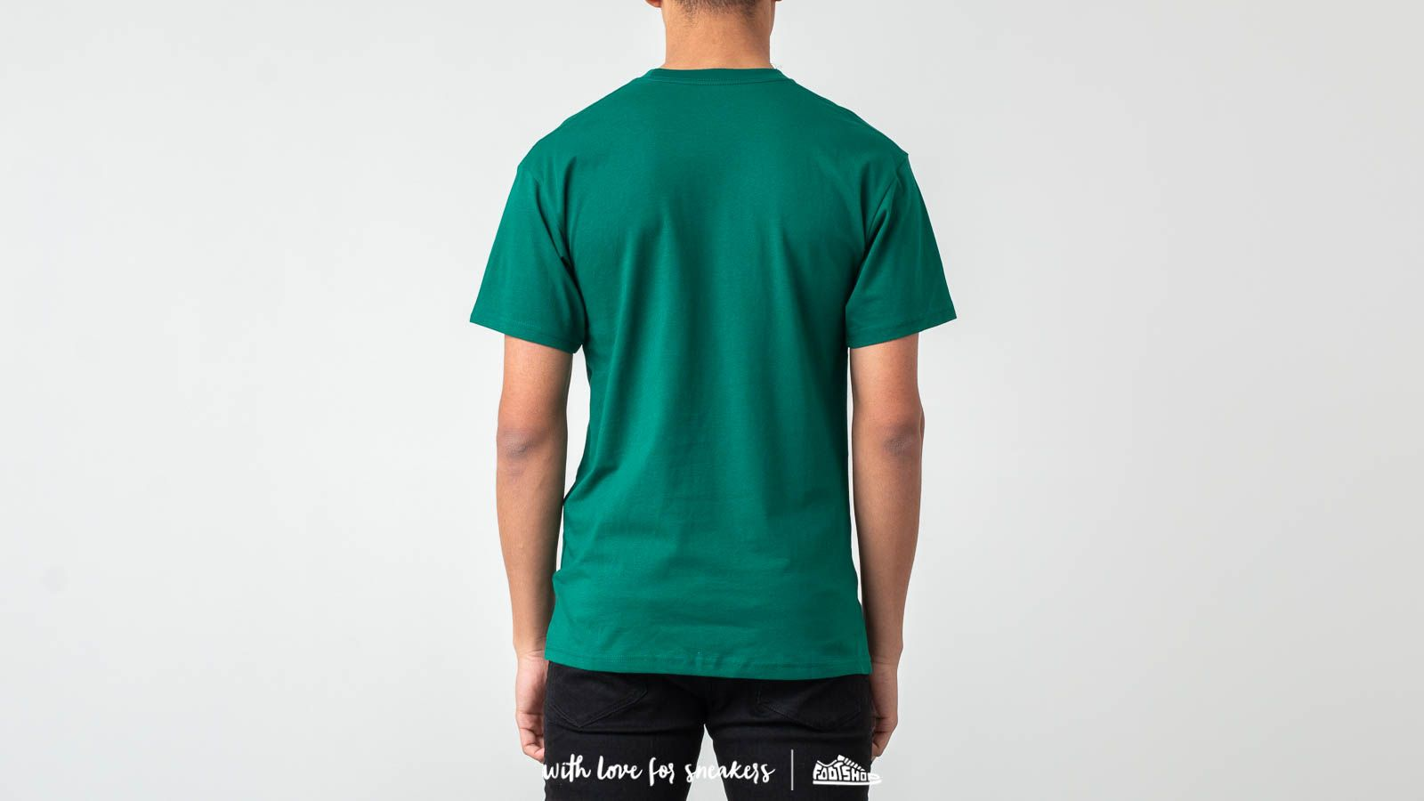 6066d43b1b273f Vans Classic Tee Evergreen  White at a great price £25 buy at Footshop