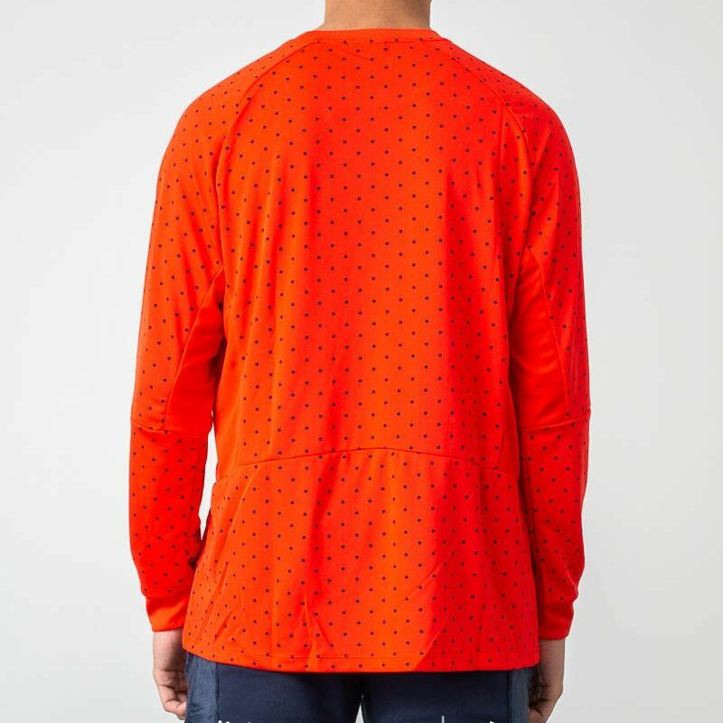 Nike Sportswear Top Knit Longsleeve Habanero Red/ Habanero Red/ Black