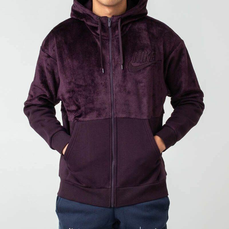 Nike Sportswear Zip Hoodie Purple, Red