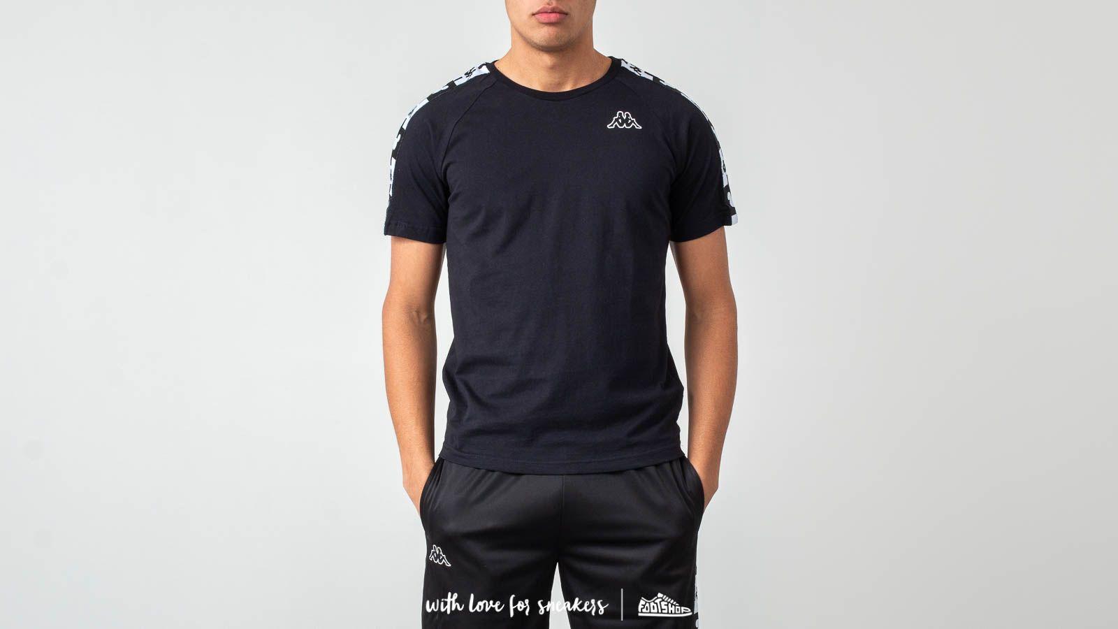 Kappa Authentic Archie Disney T-Shirt Black