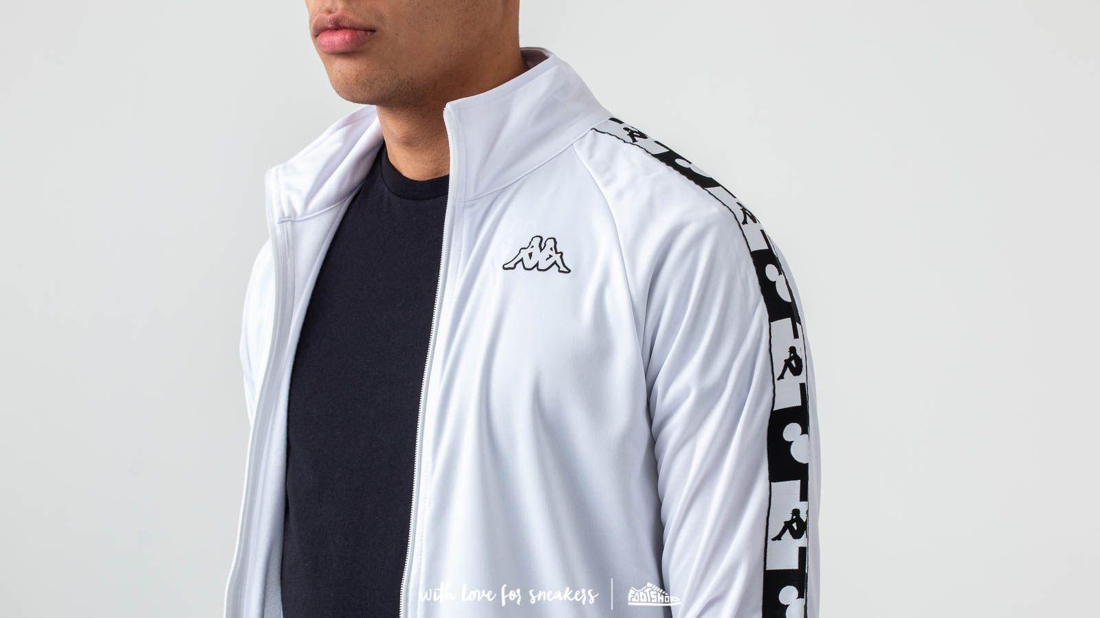 3f9d281cb8 Kappa Authentic Anne Disney Track Jacket White | Footshop