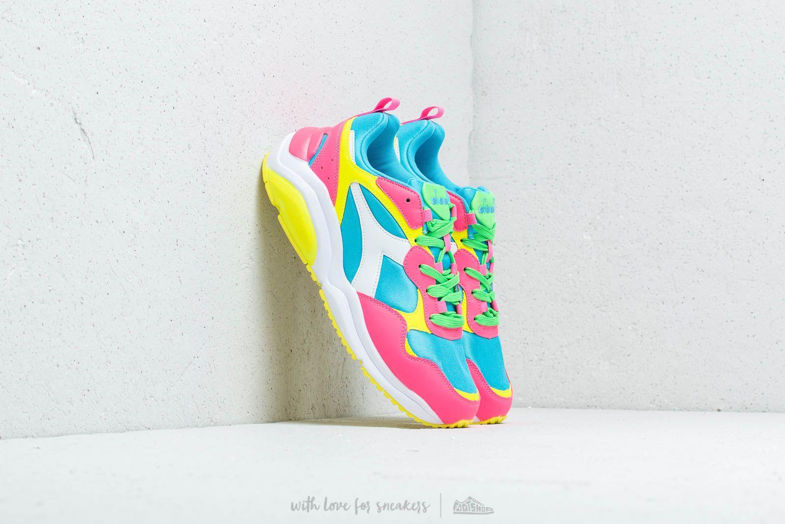 Diadora Whizz Run Fluo White/ Pink Fluo W super cenie 507 zł kupuj na Footshop.pl