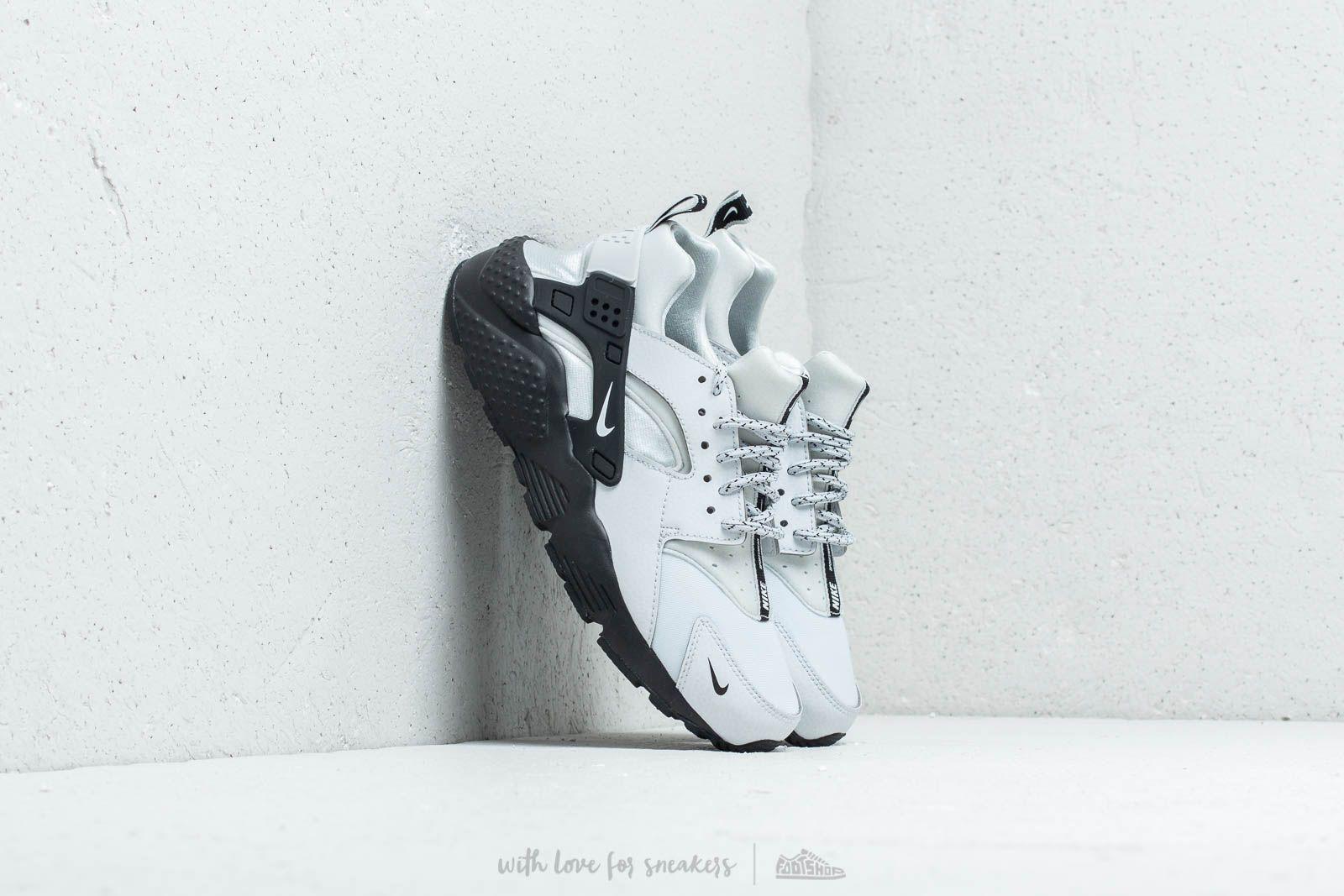 Nike Huarache Run SE (GS) Pure Platinum/ White-Black