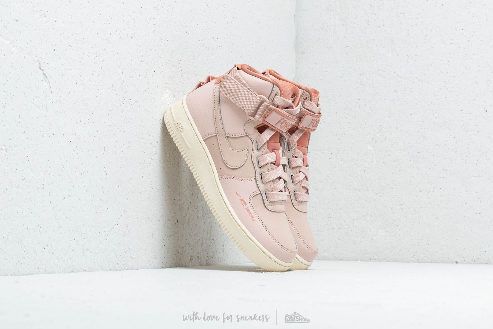 Nike W Air Force 1 Hi UT Particle Beige/ Particle Beige