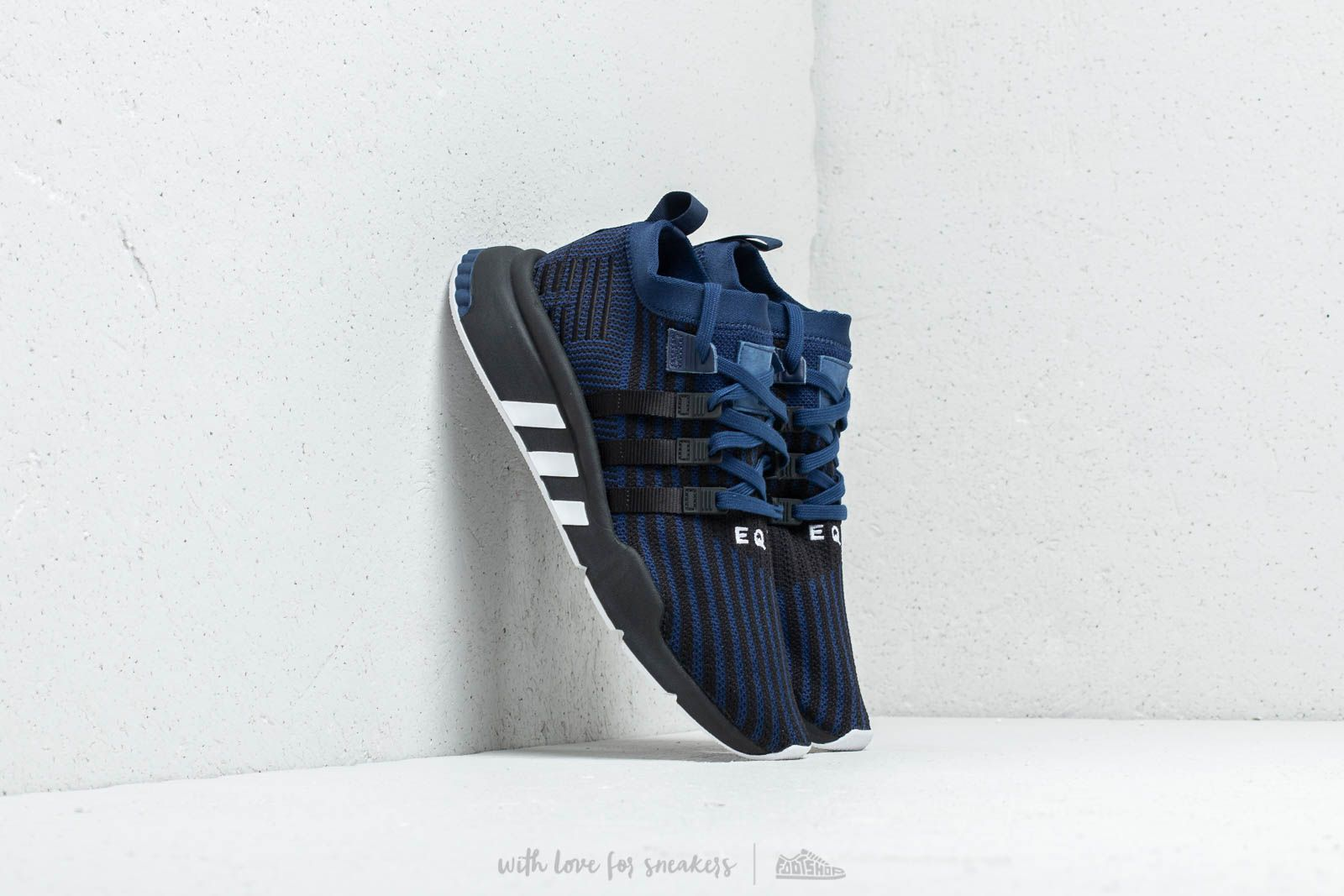 1e2c9e4ee374fa adidas EQT Support Mid ADV PK Dark Blue  Core Black  Solar Yellow ...