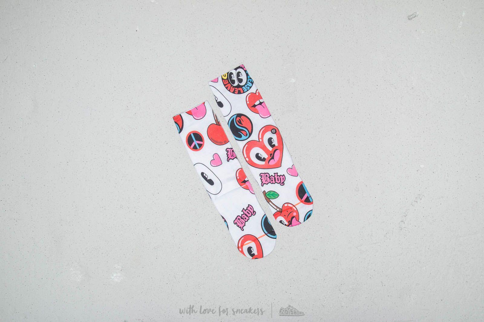Ponožky Stance Fancy White