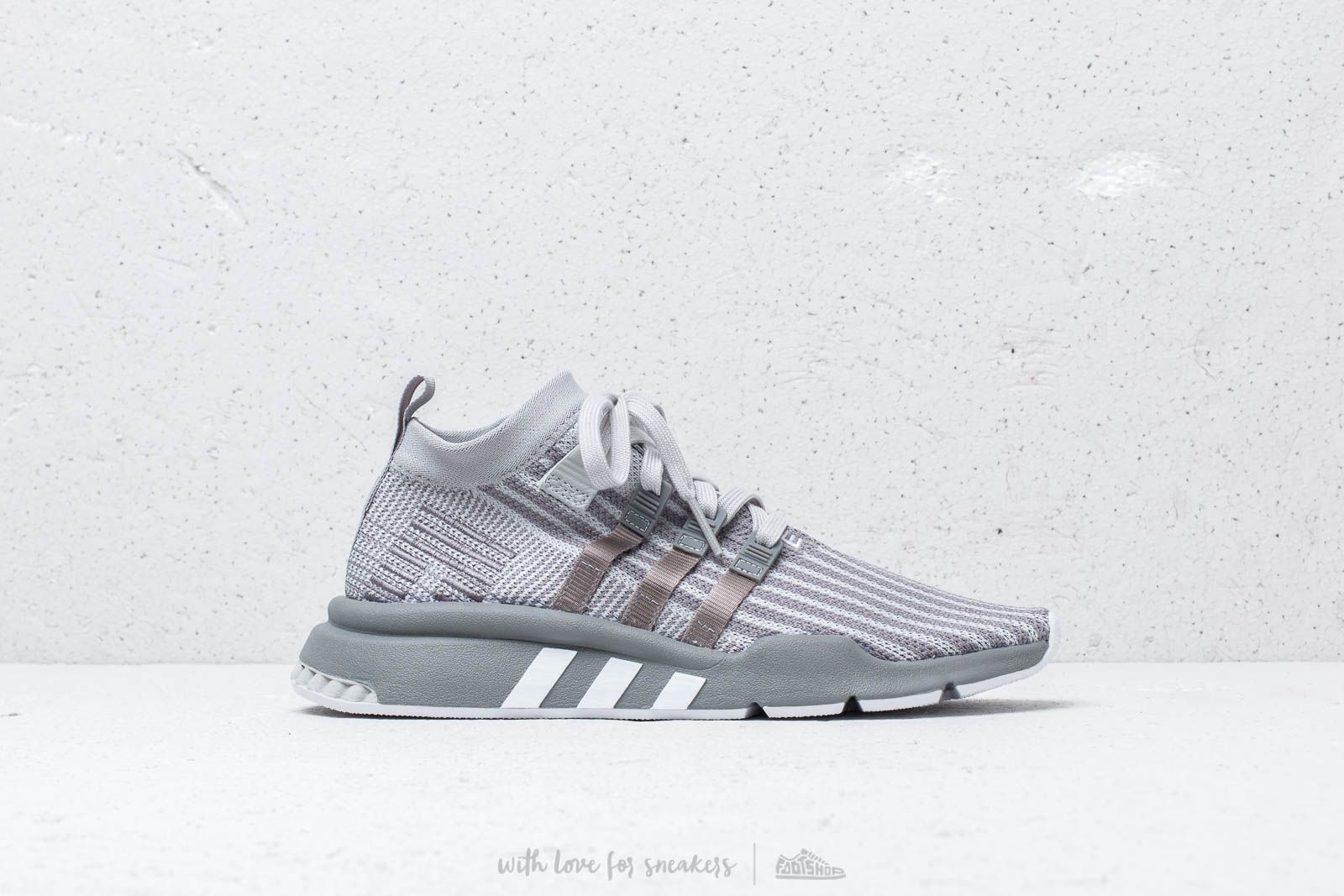 c74b3a9b adidas EQT Support Mid Adv Primeknit Grey Two/ Grey Three/ Solar ...