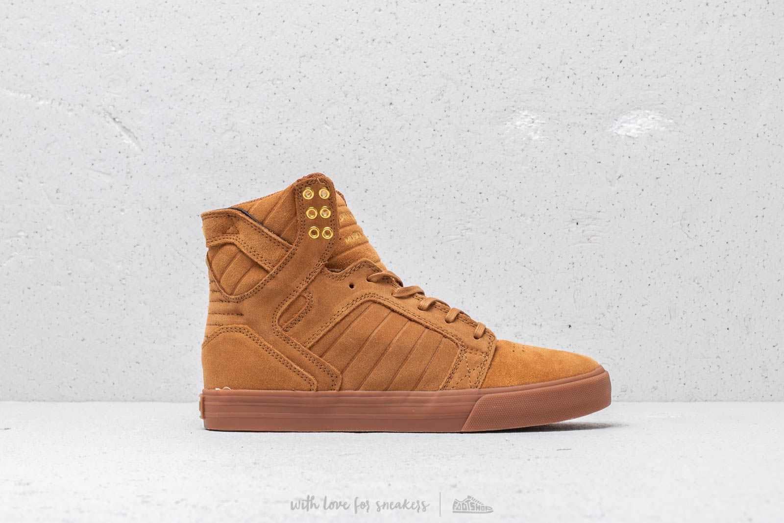 differently 7bd38 a0ab2 Supra Skytop Tan  Lt Gum at a great price 77 € buy at Footshop