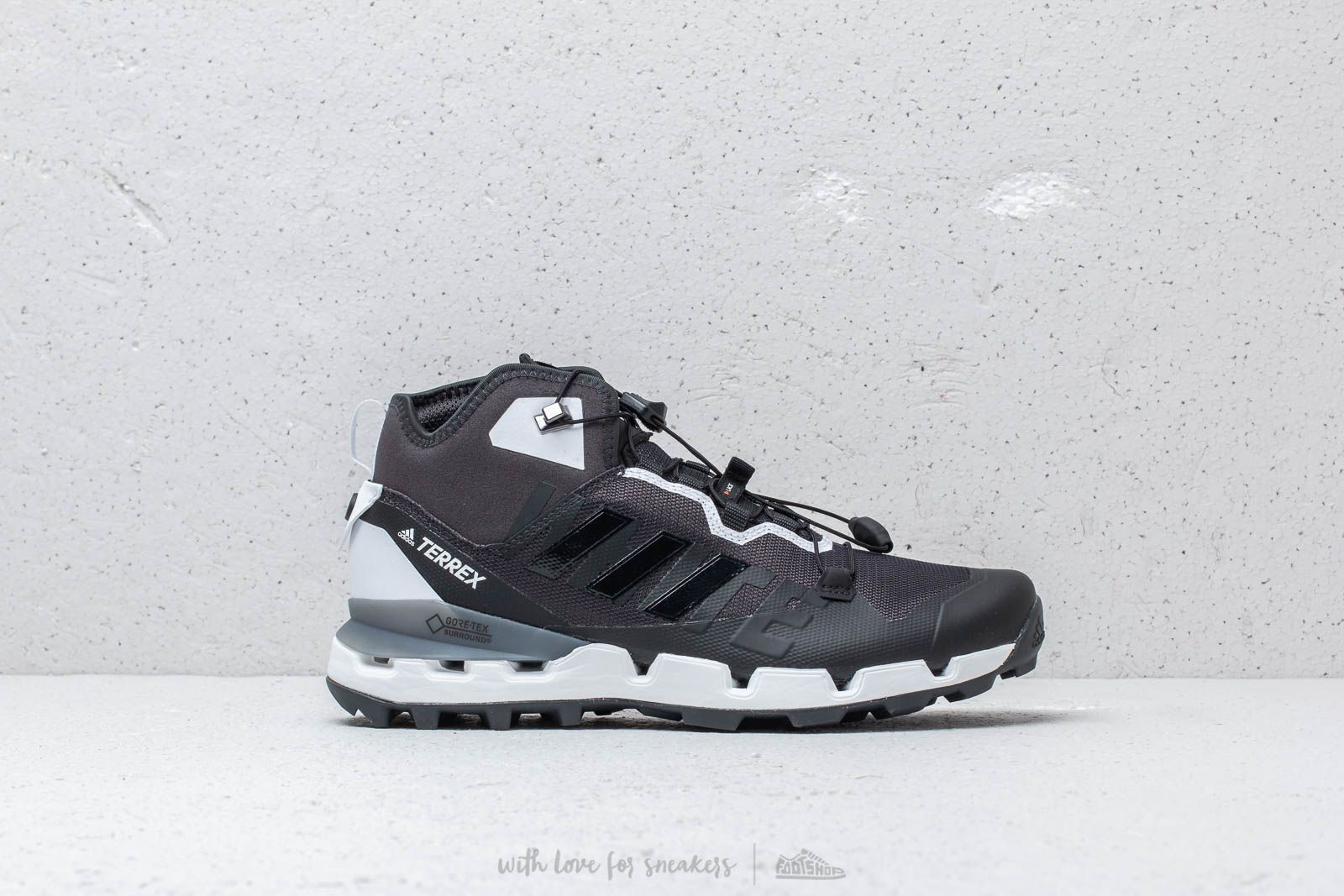 2cee9262a2d9 Adidas x White Mountaineering Terrex Fast GTX Carbon  Core Black  Footwear  White at a