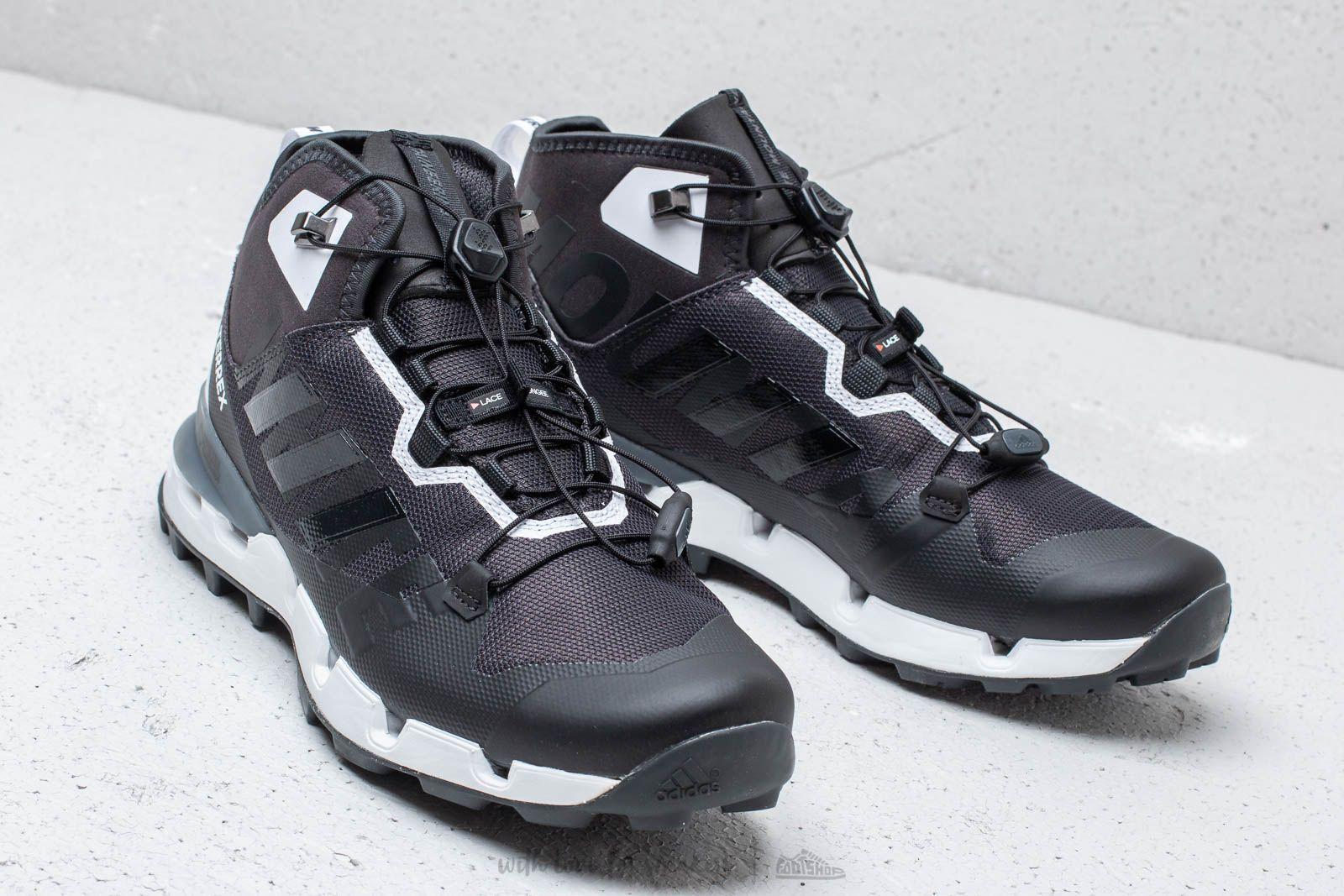 Adidas x White Mountaineering Terrex Fast GTX Carbon Core Black Footwear White   Footshop
