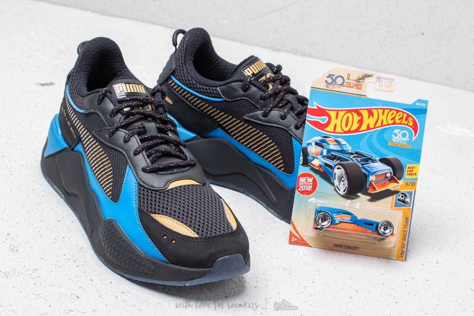 Team Bone Black Shaker Rs Hot Gold Puma X Toys Wheels qxg8ap4