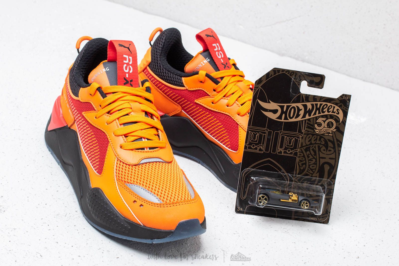 Puma X Toys Hot Wheels Rs X Camaro Vibrant Orange Puma Black Footshop