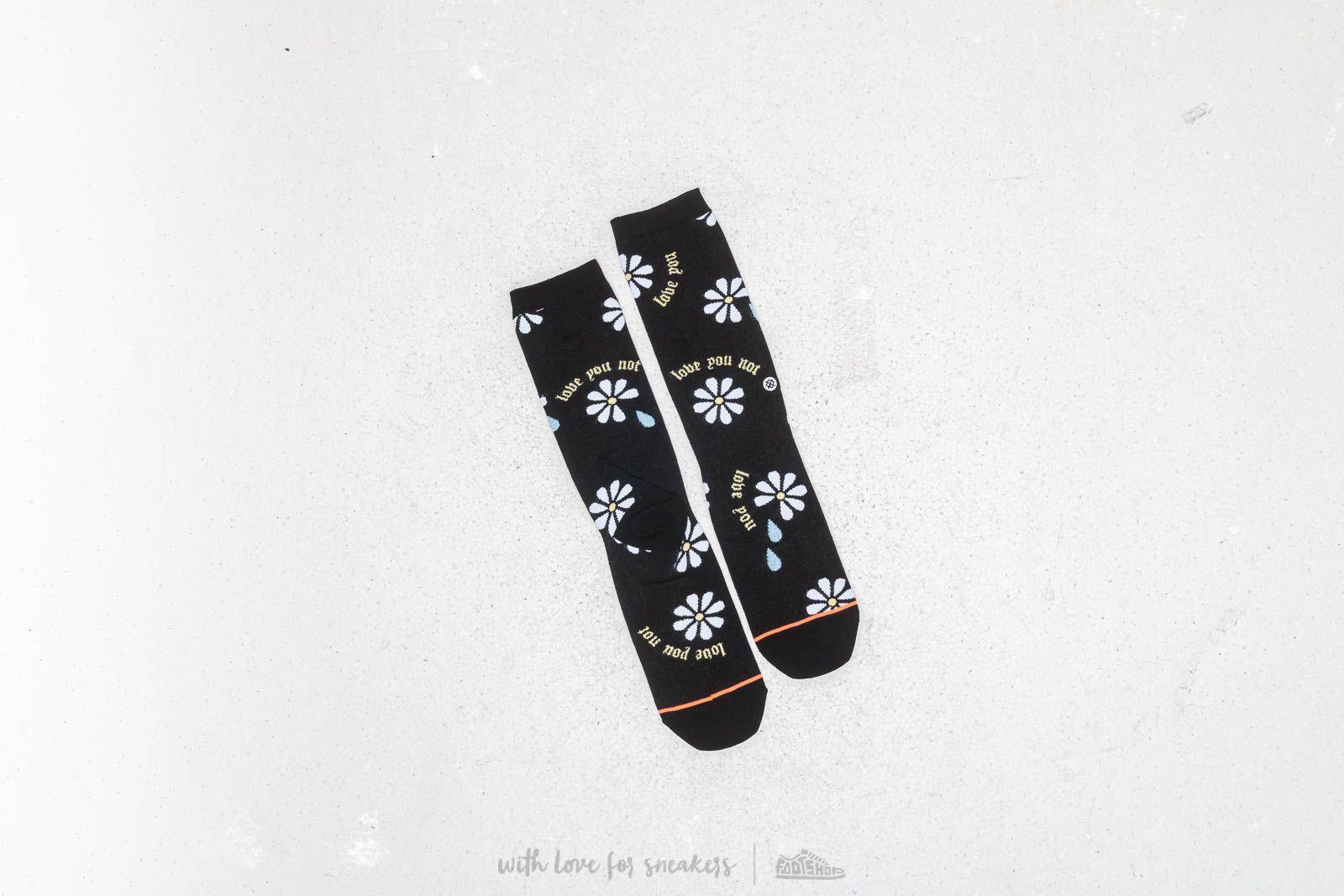 Stance Love You Not Socks Black a muy buen precio 15 € comprar en Footshop