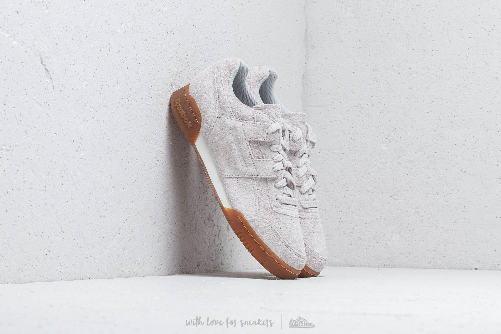 Pánské tenisky a boty Reebok Workout Plus Mu White/ Gum