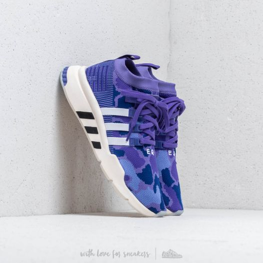 adidas EQT Support MID ADV Primeknit Purple Energy Ink Core Black | Footshop