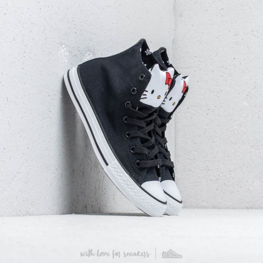 Converse x Hello Kitty Chuck Taylor All Star HiBlack Fiery Red White