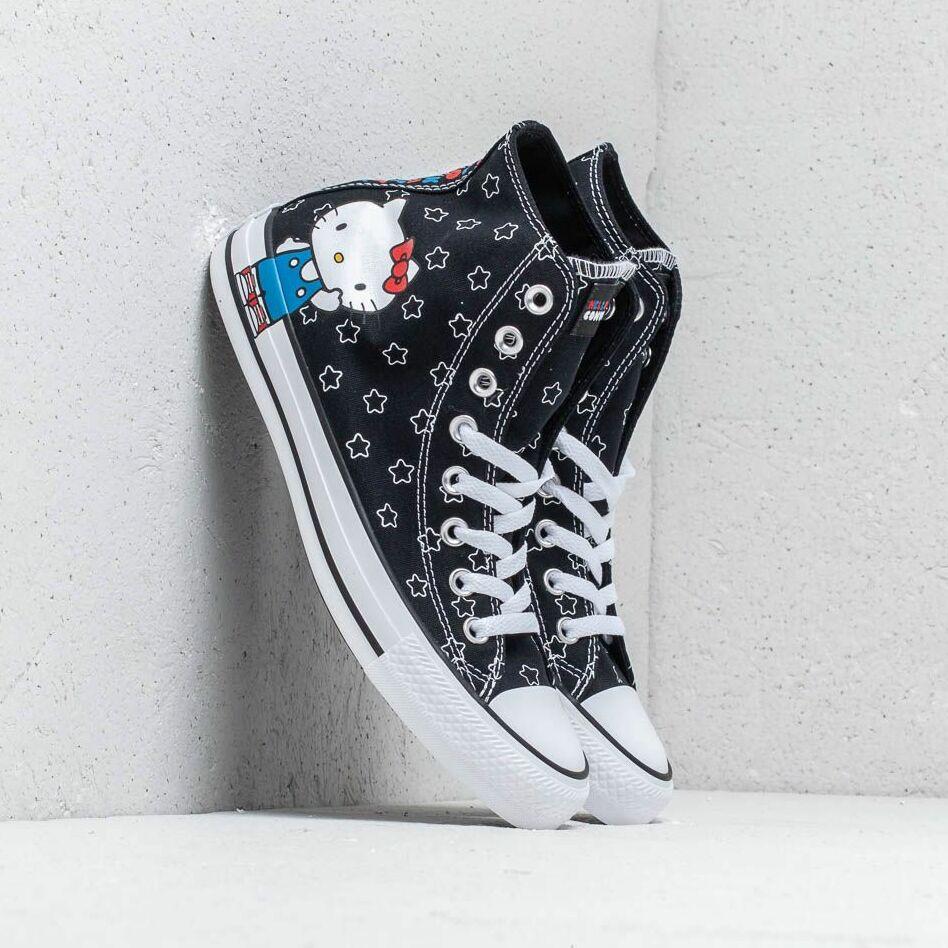 Converse x Hello Kitty Chuck Taylor All Star Hi Black/ White/ Directoire Blue EUR 40