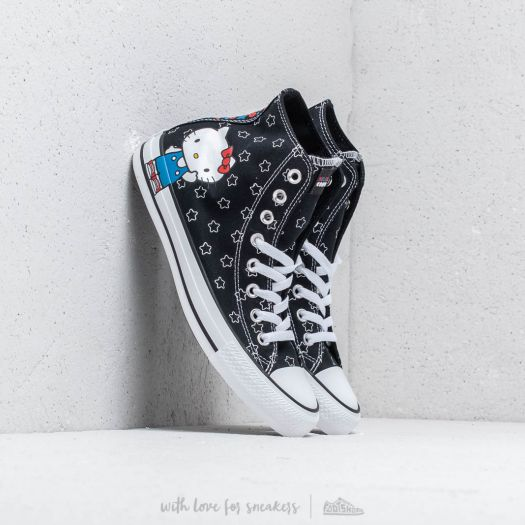 Converse x Hello Kitty Chuck Taylor All Star HiBlack White Directoire Blue