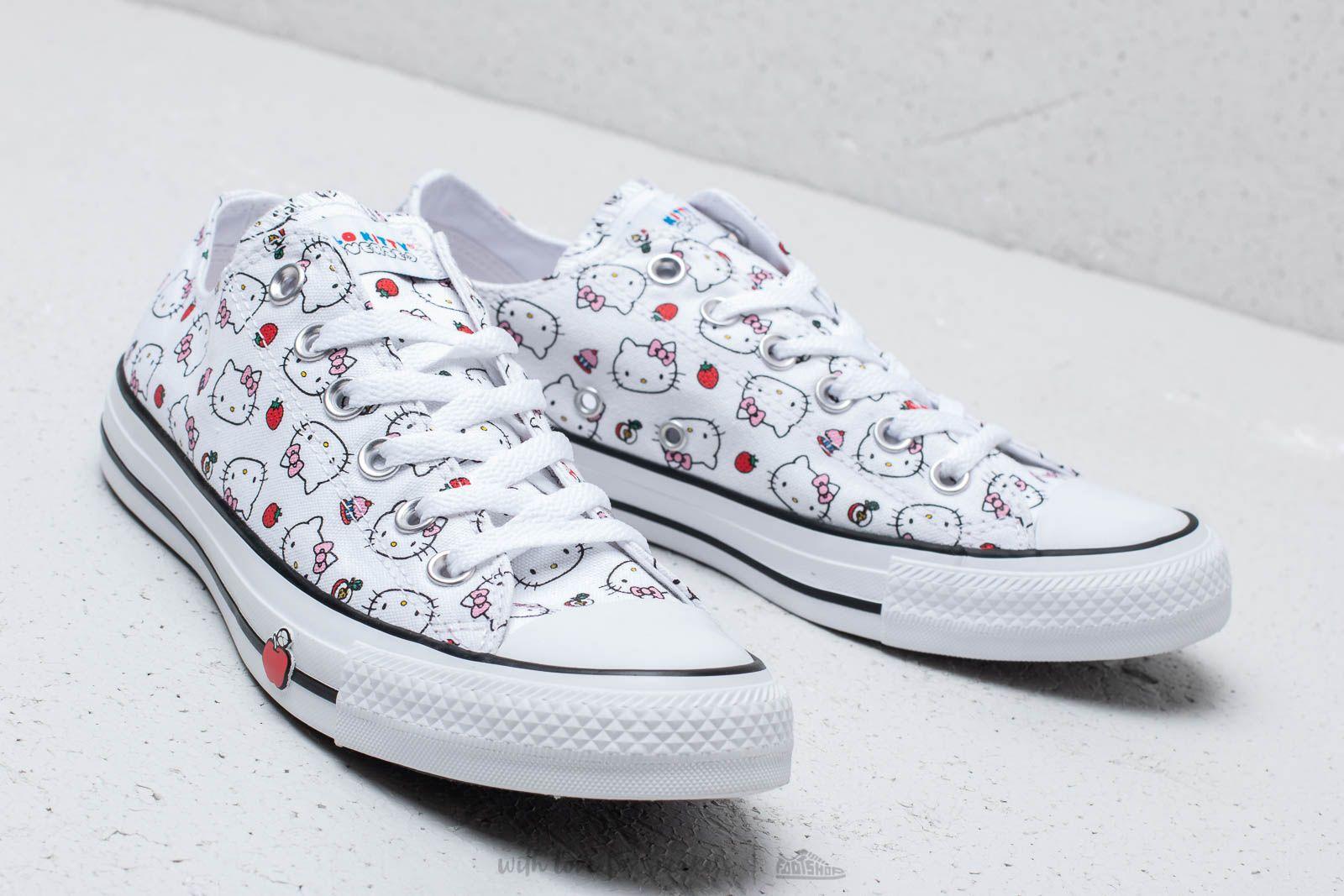 Women's shoes Converse x Hello Kitty